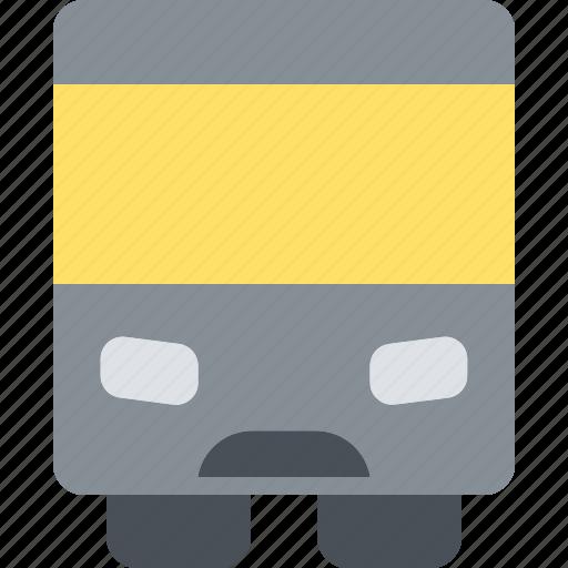 bus, happy, journey, transportation, travel, vacation icon