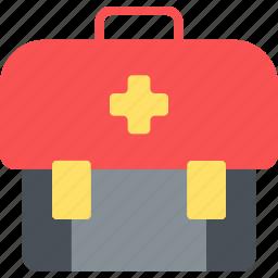 aid, happy, journey, kit, transportation, travel, vacation icon