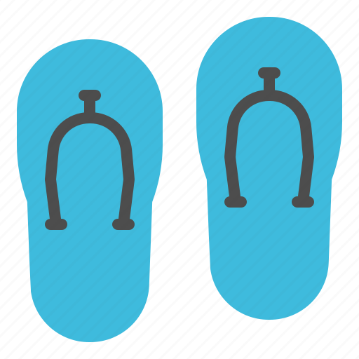 accessories, clothes, footwear, shoes, slippers icon
