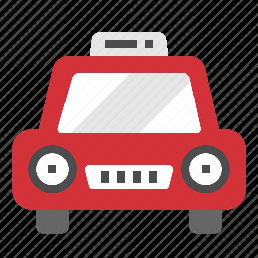 cap, car, taxi, transportation, travel icon