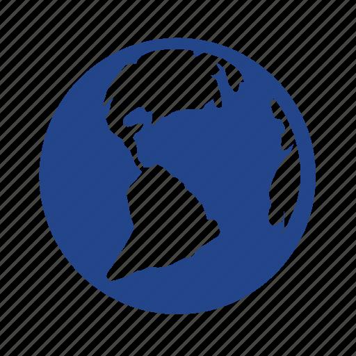 earth, globe, internet, localization, map, planet, travel, world icon