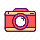 camera, outline, photograph, photography, picture, travel, traveling icon