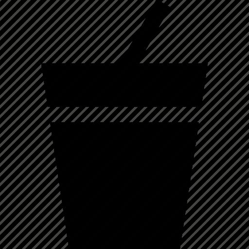 drink, drinking, straw icon