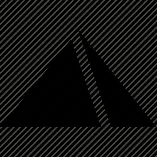 egypt, explore, hot, pyramid icon