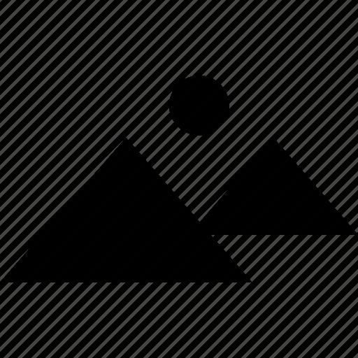 egypt, pyramids, travel, visit icon