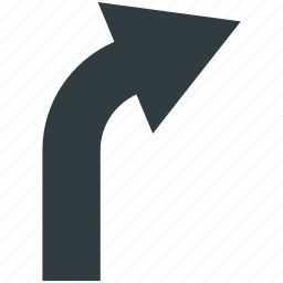 arrow, arrow direction, arrow indication, arrow point, right turn icon