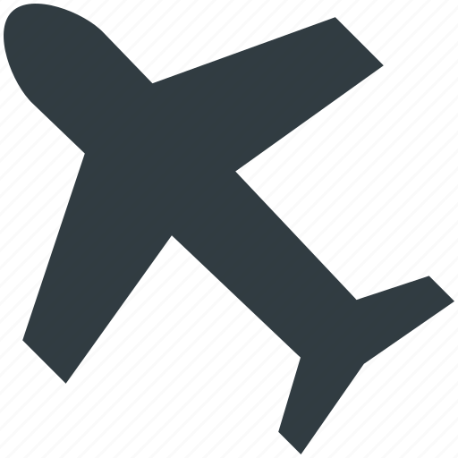 aeroplane, aircraft, airplane, fly, jet, plane icon
