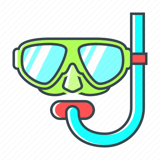 diving, diving equipment, diving glasses, driving, free diving, glasses, scuba icon