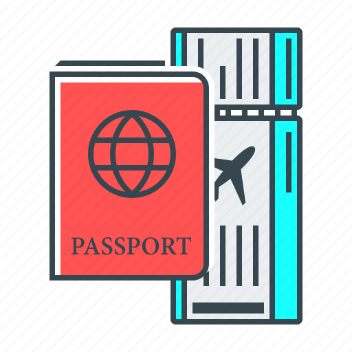 document, express, express check in, international, international passport, passport icon