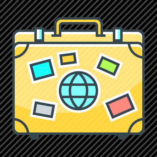 bag, baggage, luggage, suitcase, travel icon
