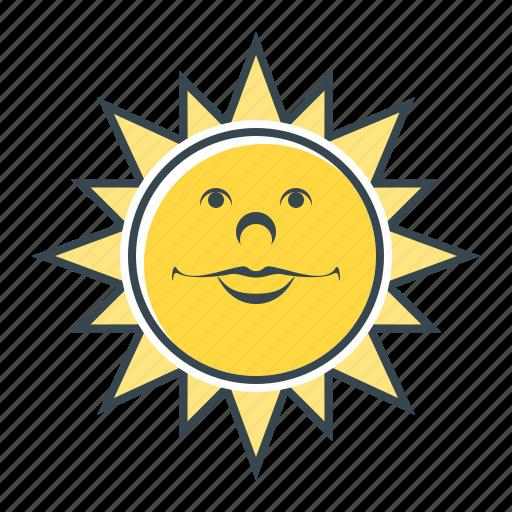 good, good weather, heat, summer, sun, sunny, weather icon