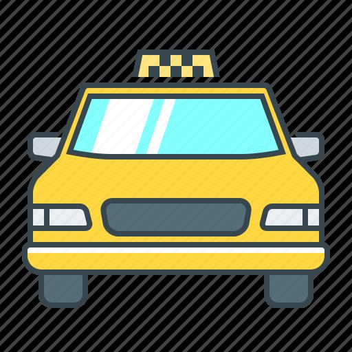 auto, automobile, cab, car, taxi, taxi cab, vehicle icon