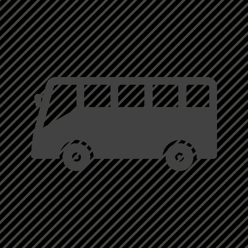 bus, public, tour, transport, transportation, travel, vehicle icon