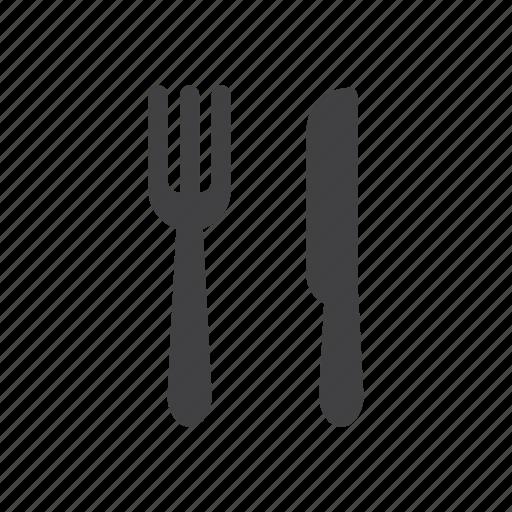 Cafe, food, fork, knife, restaurant icon - Download on Iconfinder