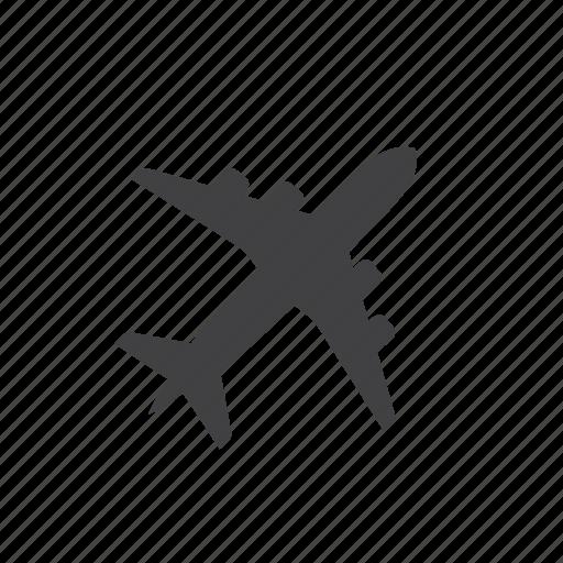 aircraft, flight, plane, transport, travel icon