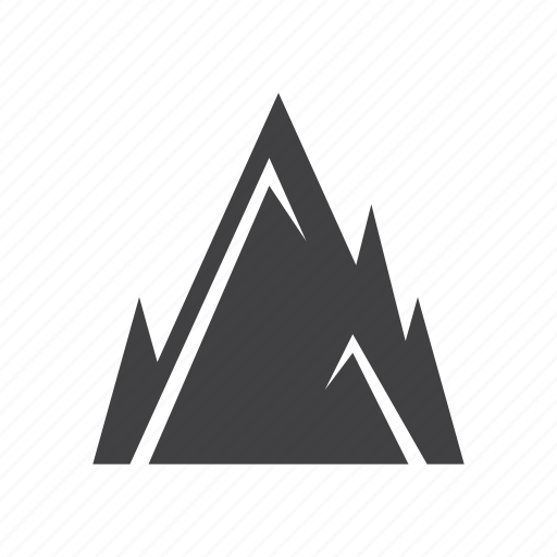 hill, mountains, peak icon
