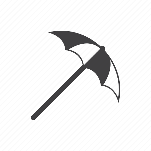 beach, shade, umbrella icon