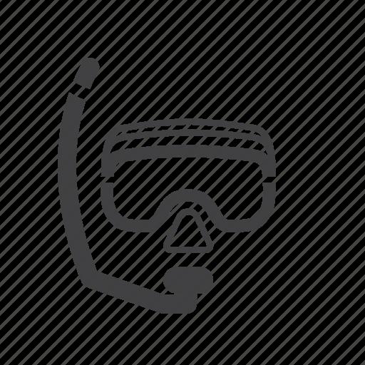 Diver, diving, mask, scuba icon - Download on Iconfinder