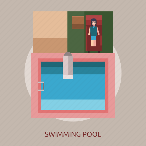 holiday, pool, relaxed, swimming, water icon