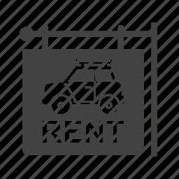 business, car, dealer, driver, rent, travel, vehicle icon