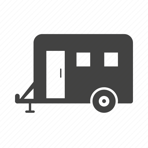 container, trailer, transport, travel, truck, vehicle icon