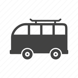 family, road, transportation, travel, trip, van, vehicle icon