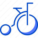 bicycle, holiday, suitcase, tourism, vacation, world icon