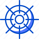 holiday, ship, steering, suitcase, tourism, vacation, wheel icon