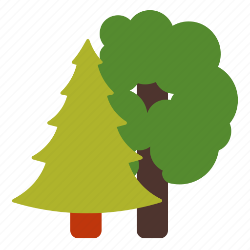 forest, garden, park, trees icon