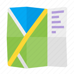 gps, map, navigation, travel icon