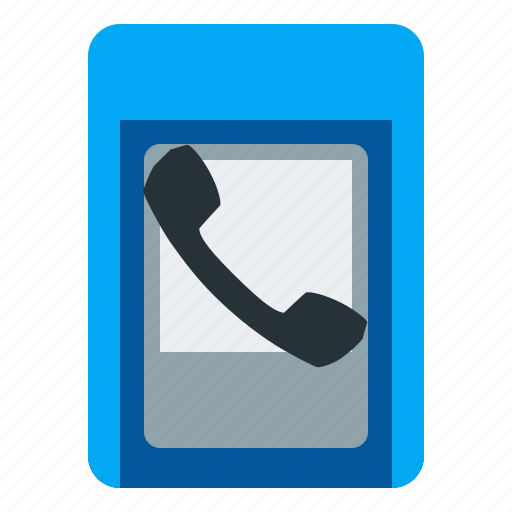 communication, payphone, phone, telephone icon