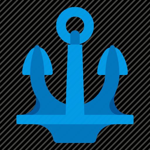 anchor, port, sea, seaport icon