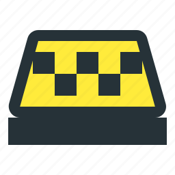 sign, taxi icon