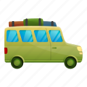 car, family, flower, green, travel, woman