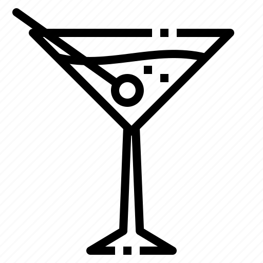 beverage, drink, liqueur, martini, relax icon