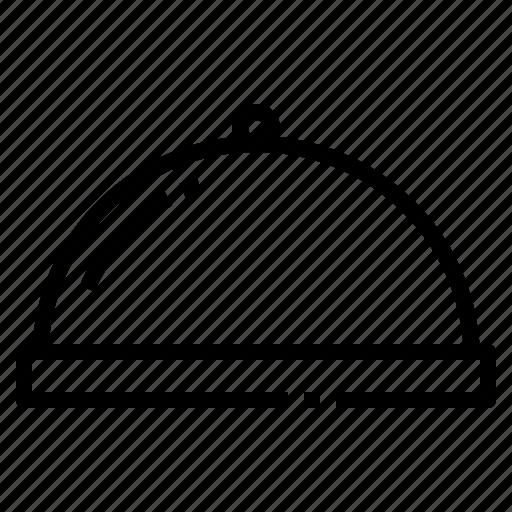 dish, food, restaurant, service, tray icon