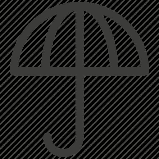 beach, protection, rain, shelter, travel, umbrella icon