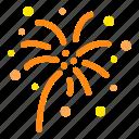 1f387, a, sparkler icon
