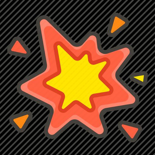 1f387, b, sparkler icon