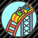 1f3a2, a, coaster, roller icon