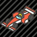 1f3ce, b, car, racing icon