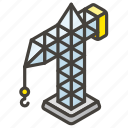 1f3d7, a, building, construction icon