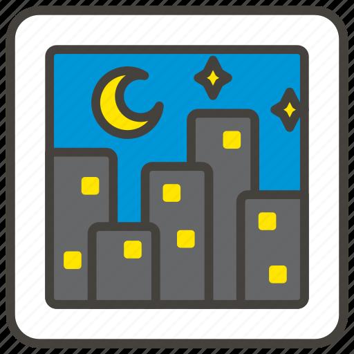 1f3d9, cityscape icon