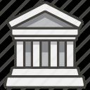 1f3db, b, building, classical icon