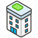1f3e2, a, building, office icon