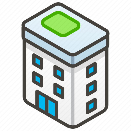 1f3e2, a, building, office icon