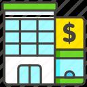 1f3e6, bank, c icon