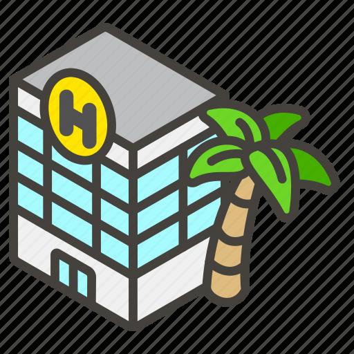 1f3e8, c, hotel icon