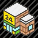 1f3ea, a, convenience, store icon