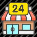 1f3ea, c, convenience, store icon